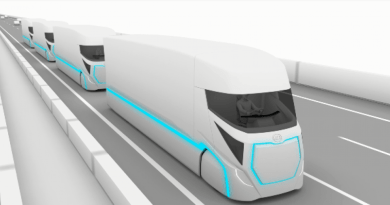 Ud_trucks --_innovation_road_map_for_electric_automated_trucks - Autonom Truck, Roboter Truck - Platoon Trucks - Bild UD ---