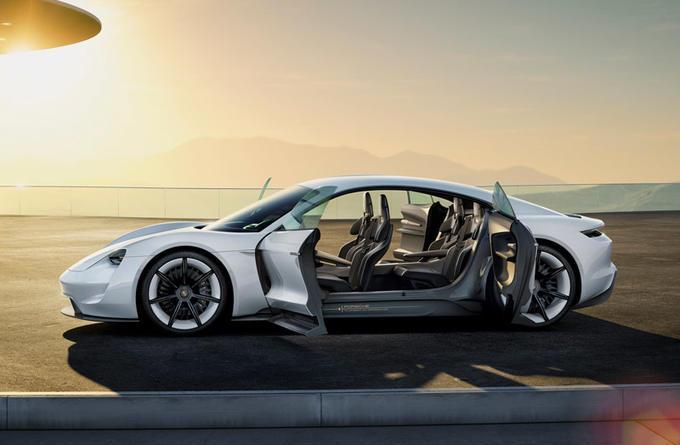 Beitragsbild - Porsche-Taycan --- Aus Mission E wird jetzt Serie als Taycan