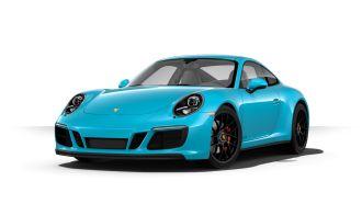 Porsche 911 Carrera GTS in schwarz - von vorne - Foto Porsche (2)