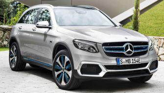 Mercedes - GLC F-Cell - Brennstoffzelle, Wasserstoff, Elektroauto, E-Auto - Foto Mercedes - 1