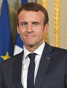 Französischer Präsident Emmanuel Macron - Politiker Frankreich - Macron toppt im Flop die SPD