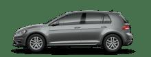 VW - Golf TGI - ERDGAS Auto - Anrieb Erdgas - linke Seite, grau metallic - Foto VW - VW plant 50 neue Elektroauto Modelle