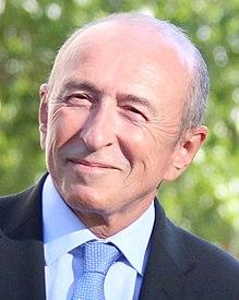 Zurückgetretener französischer Innenminister Gérard Collomb - Politiker Frankreich - Macron toppt im Flop die SPD