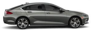 Buick - Regal 1,8 30 Hybrid- Hybrid - GM Tochter - grau metallic - von rechts, Beifahrerseite - 1.796 m3, R4 + Elektromotor - Hybrid - 185 PS Systemleistung - Nur China - Foto Buick