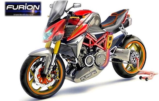 Furion M1 - Hybrid Motorrad - Elektro + Wankelmotor --- Elektro Motorrad - Foto - Furion - (8)