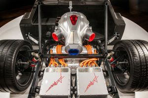 Techrules AT 96 TREV, Technik, supercar concept studio, China, Concept Auto, Turbine + Elektro Antrieb, at 2016 Geneva Motor Show - (1) - Techrules Ren, China Supercars, Sechs Motoren + Diesel Turbine
