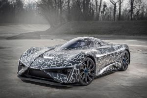 Techrules Ren RS, at 2017 Geneva Motor Show - Foto Techrules, China, Elektroauto (7) - Techrules Ren, China Supercars, Sechs Motoren + Diesel Turbine