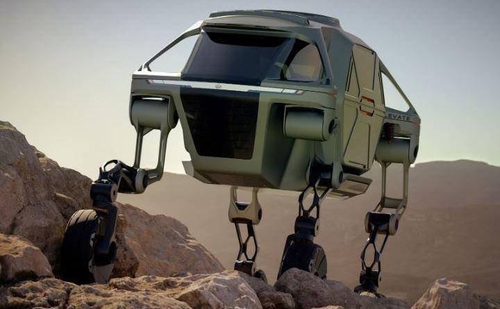 Hyundai Elevate Concept Car - Elerktroauto, Roboter, (6)
