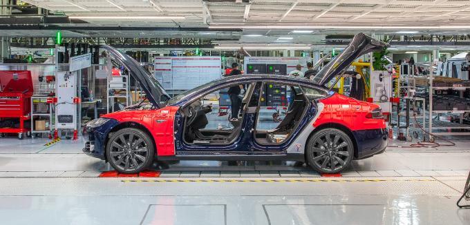 Tesla setzt auf vollautonome Autos - Tesla kann den Supercomputer auch nachrüsten - Foto Tesla
