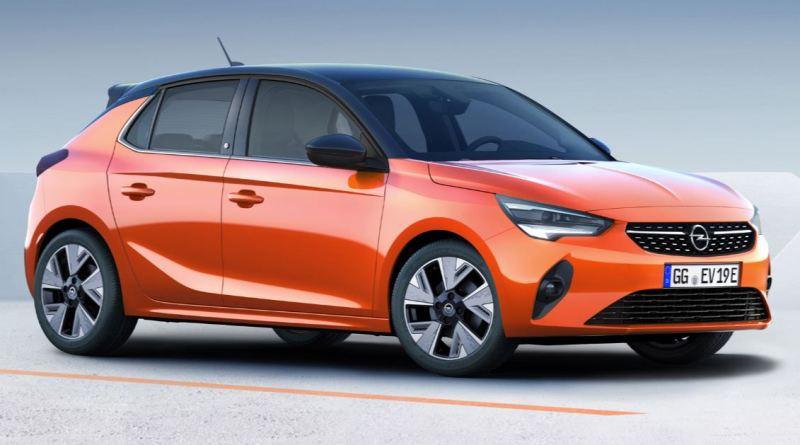 Corsa E Elektro kommt schon nächstes Jahr - Opel Corsa - e, Von Seite links, Beifahrer Seite, Ab 2020, Foto Opel