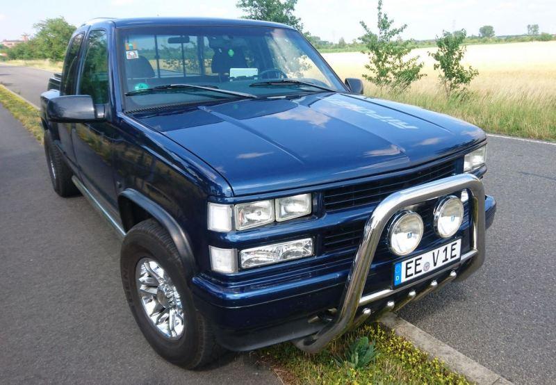 Verbrenner umbauen zum Elektroauto - Elektroauto-Umbau-Chevrolete-K1500-Silverado-Fa.-RiPower-