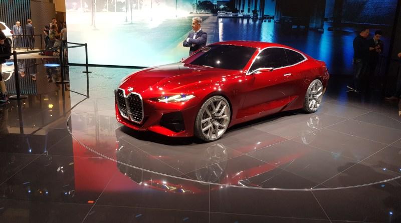 BMW Concept 4 - das neue Vierer Coupe - IAA 2019