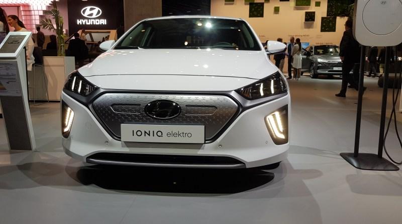 IAA 2019 - Hyundai Ioniq - Exterieur - Foto emoove.net - Hyundai Ioniq Elektro - Fotos IAA