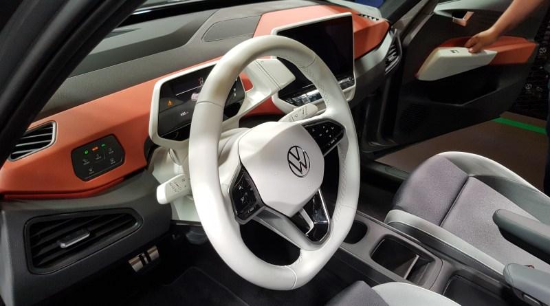 IAA 2019 - VW ID 3 - Interieur, Cockpit, Ausstattung - Foto emoove.net