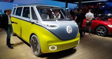 VW ID Buzz - der elektrische Bulli - Fotogalerie - IAA 2019