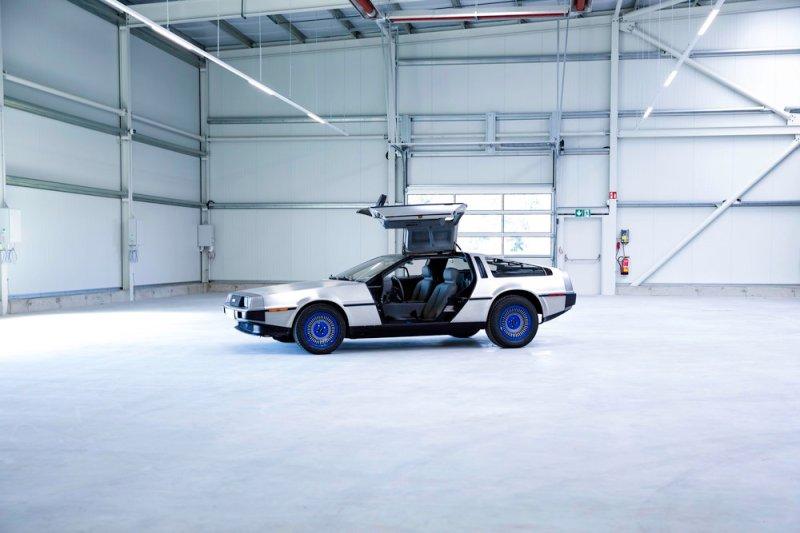 Verbrenner umbauen zum Elektroauto. - Umbau-DeLorean-zum-Elektroauto-dur-die-Fa.-ecap-mobility-Foto-ecap