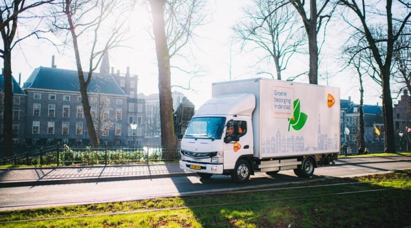 Daimler liefert weitere vollelektrische FUSO eCanter aus