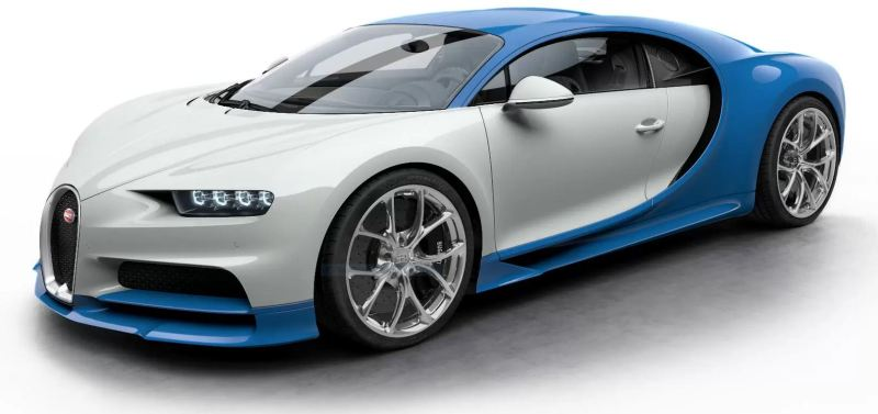 Tesla Roadster vs Bugatti Chiron - Bugatti Chiron - 2021 - Foto Bugatti - 5