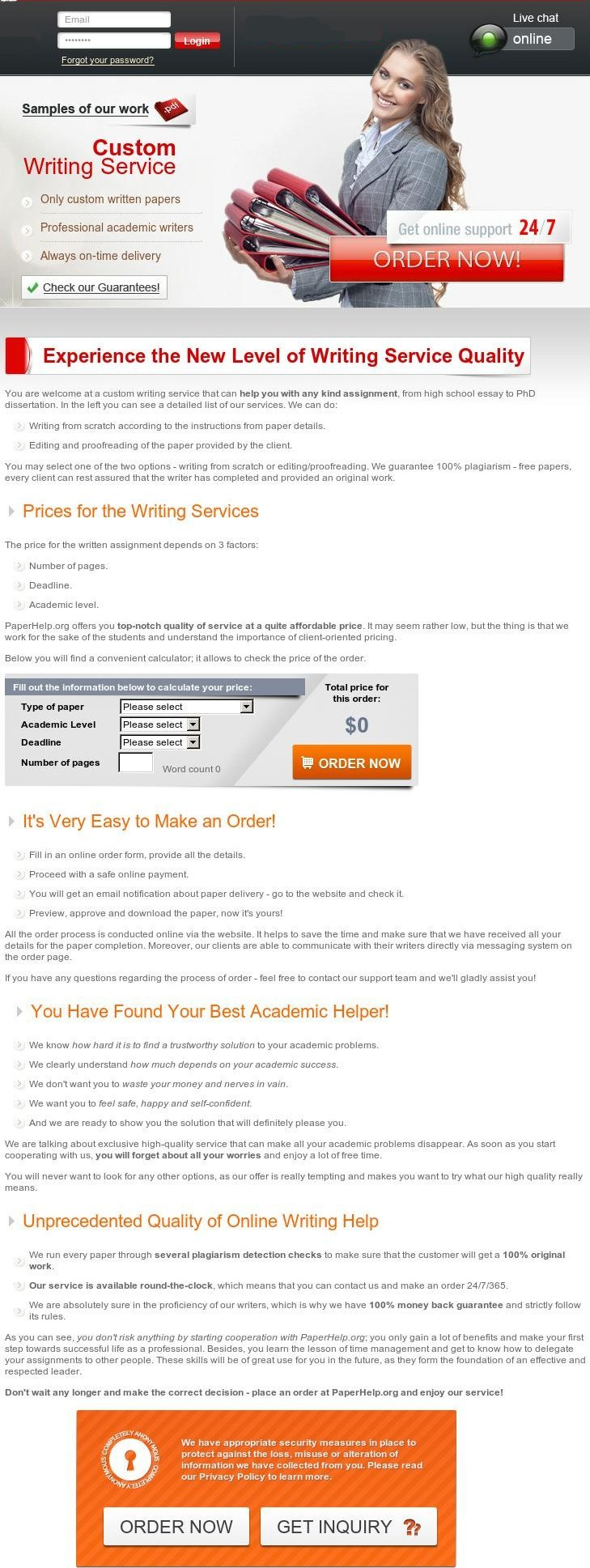 Writing a term paper for sale. Get your term paper writing service ...