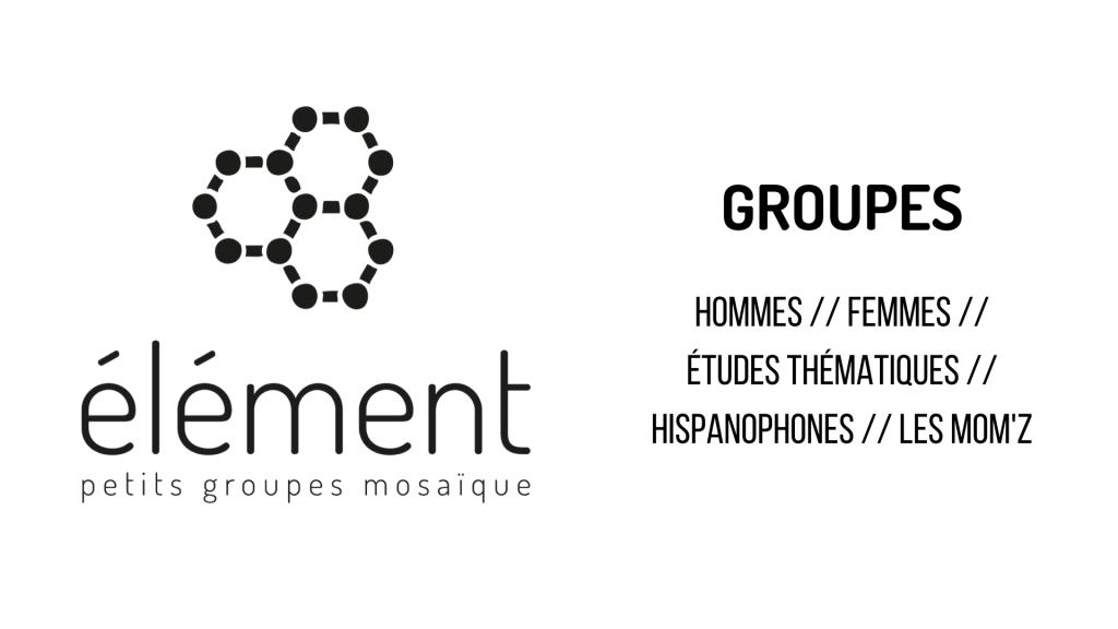 ANNONCE_GROUPES ÉLÉMENT