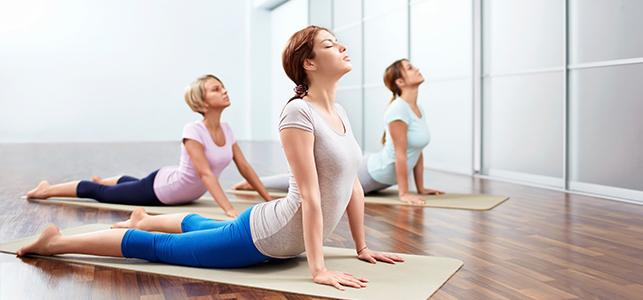 doing-yoga