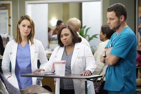 Una foto di scena della nuova stagione della serie Grey's Anatomy. ANSA/ UFFICIO STAMPA ++HO - NO SALES EDITORIAL USE ONLY - NO ARCHIVE++