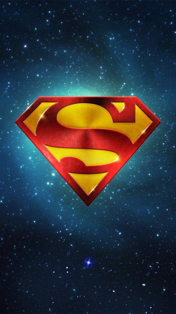 Superman-S-Shield-space-phone-wallpaper-576x1024