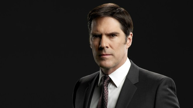 "CRIMINAL MINDS - ""Criminal Minds"" stars Thomas Gibson as Aaron Hotchner. (ABC Studios/Cliff Lipson)"