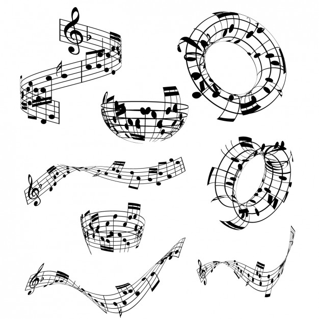 musical-notes-collection_1048-1222
