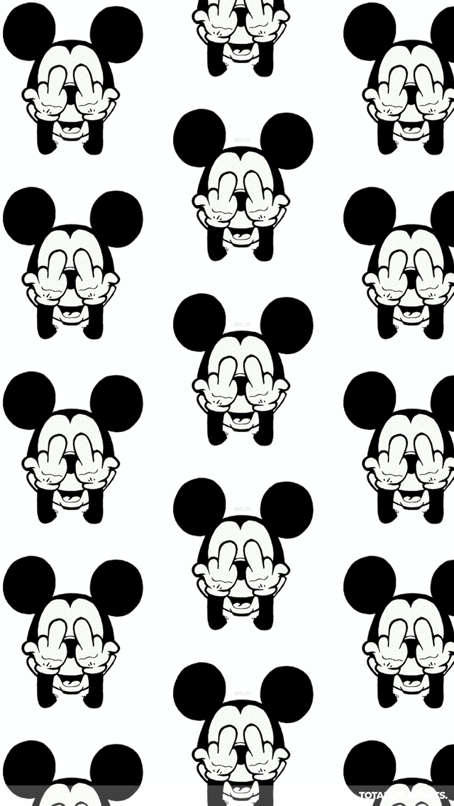3d_mickey_mouse_flipping_the_bird
