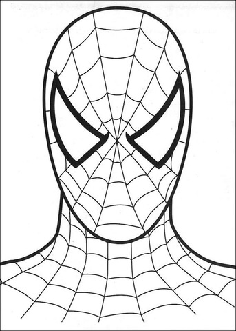 head-of-spiderman-coloring-page