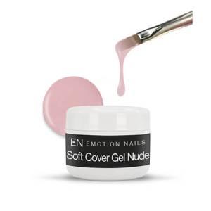 Soft Cover Gel Nude è un gel trifasico adatto per creare un naturalissimo effetto camouflage sulle unghie che grazie alla sua perfetta densità , rende molto veloce e pratico da realizzare il refill