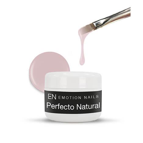 Perfecto Natural gel costruttore tissotropico ad alta densita ideale per allungamenti anche estremi colorazione rosata