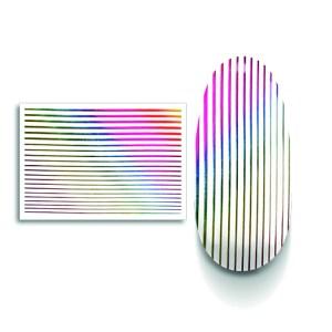 strisce decorative rainbow