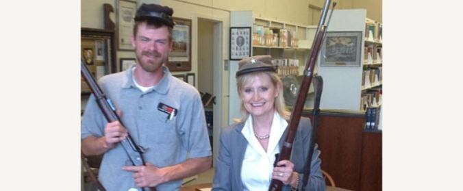 112818-01 Cindy Hyde-Smith Rifle