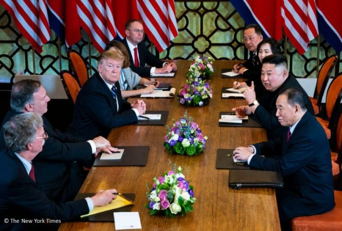 030419-01 Trump Kim Vietnam Meeting