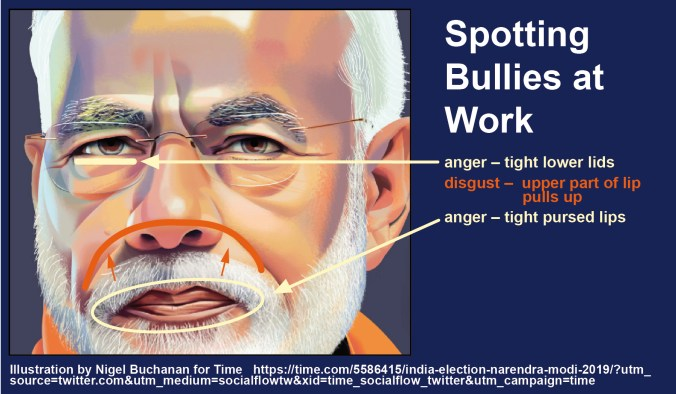 Narendra Modi as Authoritarian Bully