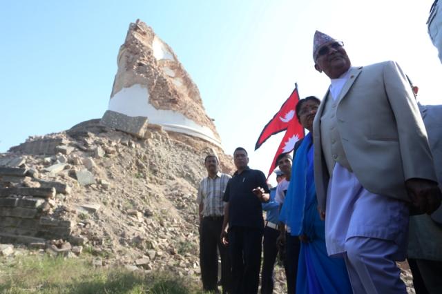 Pm KP Sharma Oli dharahara