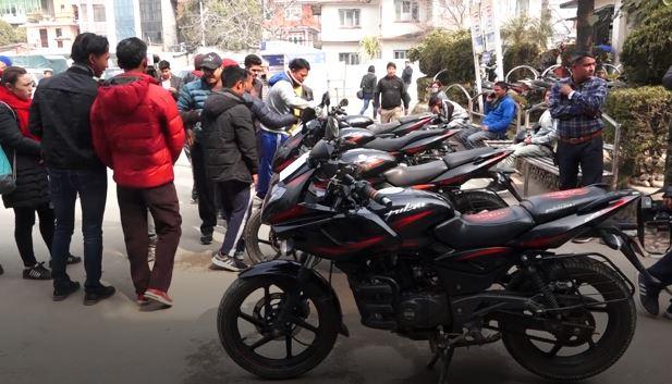 motorcycle baramad
