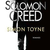 Nuova uscita Harper Collins Italia : Solomon Creed di Simon Toyne