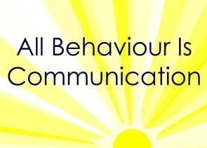 All behavior is communication
