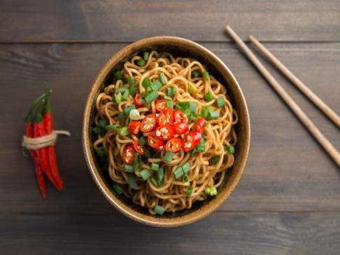 Noodles are comfort food