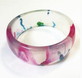 marbled-resin-bangle
