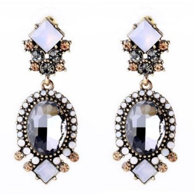 Alina gem earrings
