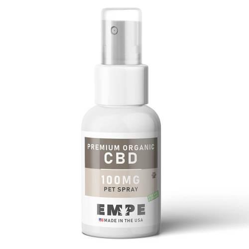 Organic CBD spray for dogs