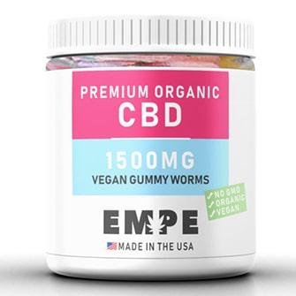 CBD Vegan Gummy Worms 1500mg