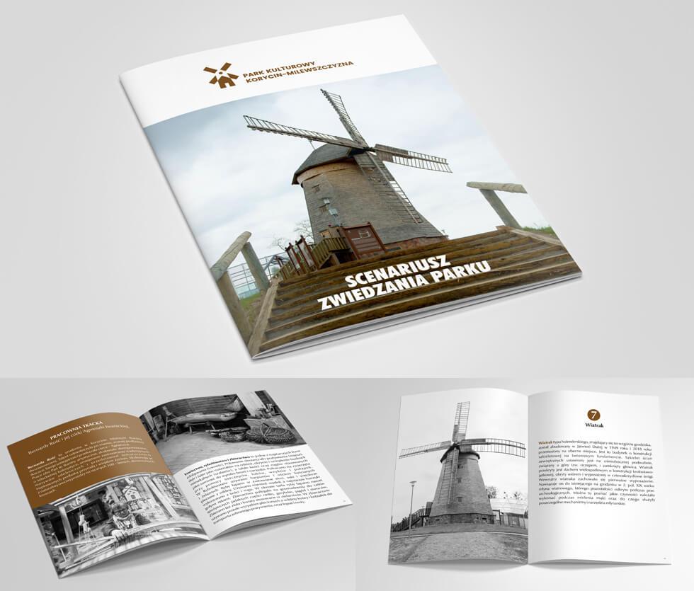 Park Kulturowy Korycin - Milewszczyzna Katalog przygotowany dla Parku Kulturowego Korycin – Milewszczyzna prezentujący ścieżkę zwiedzania oraz najważniejsze atrakcje w Parku i okolicy.