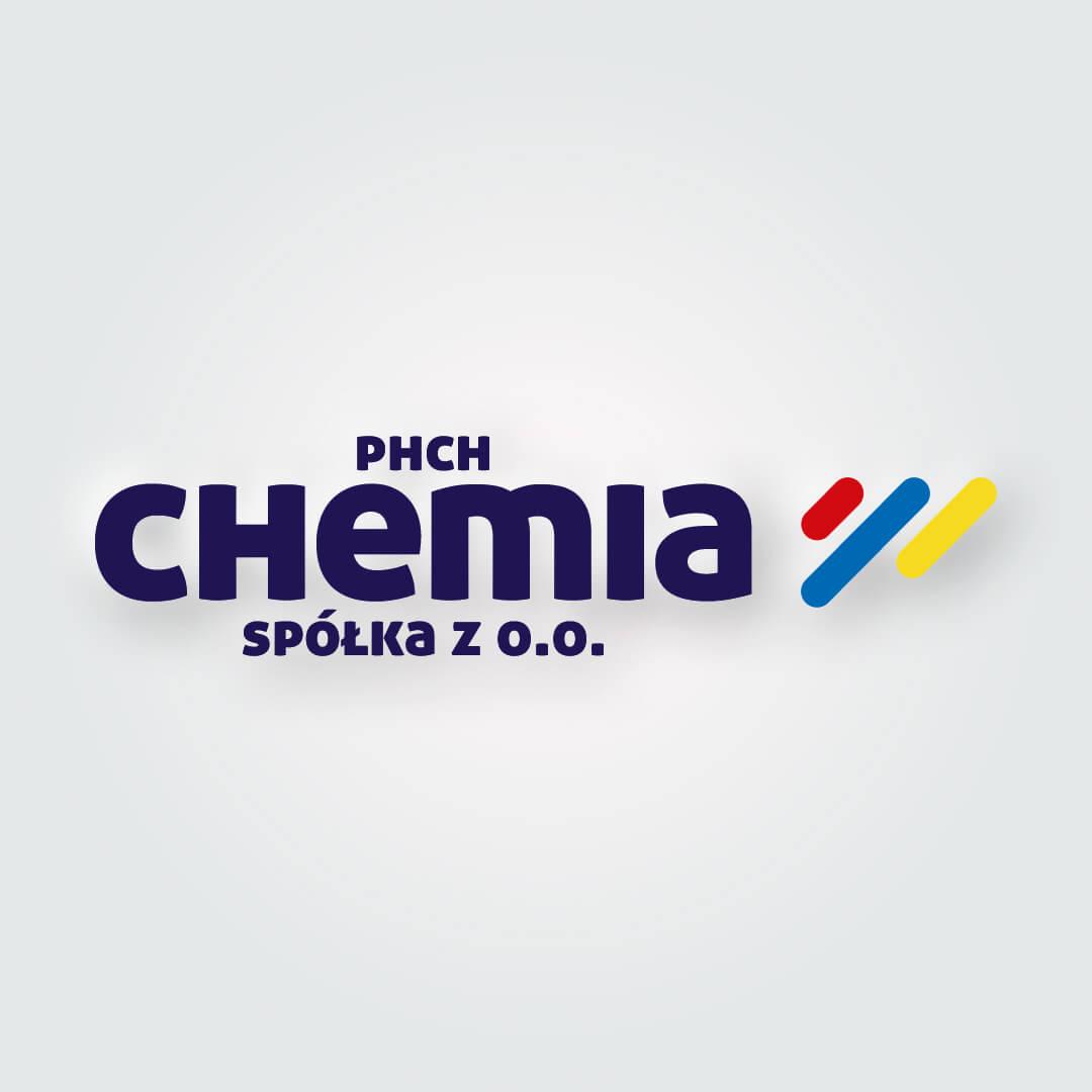 PHCH Chemia Białystok Jeden z najstarszych w regionie dystrybutorów oraz producentów chemii budowlanej. Logo zostało odświeżone i nawiązuje do starego znaku graficznego.