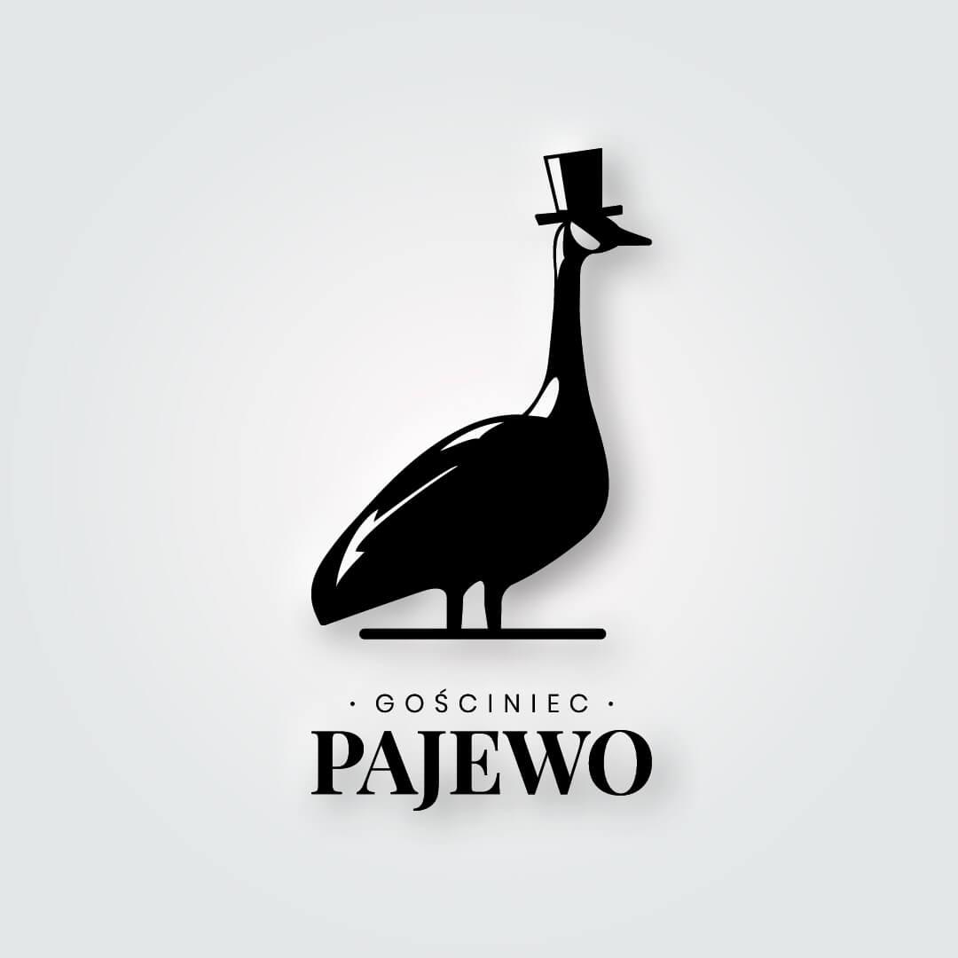 Gościniec Pajewo Logo oraz księga znaku wykonana dla Gościńca Pajewo.