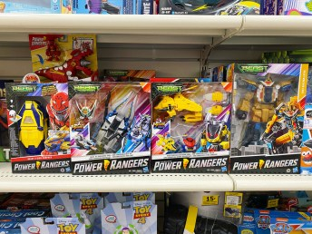 Power Rangers: Beast Morphers toys at Winners!